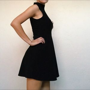 Black Sleek Cocktail Dress